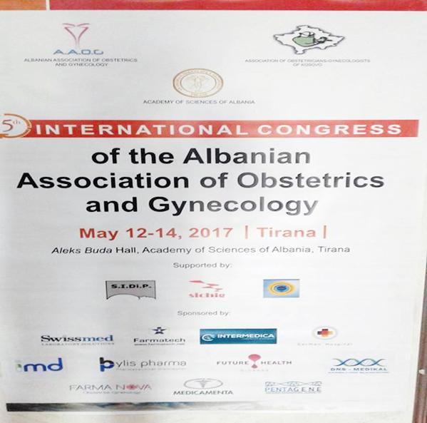 Kongresi i V-të Ndërkombëtar i Shoqatës të Obstetrikë-Gjinekologjisë