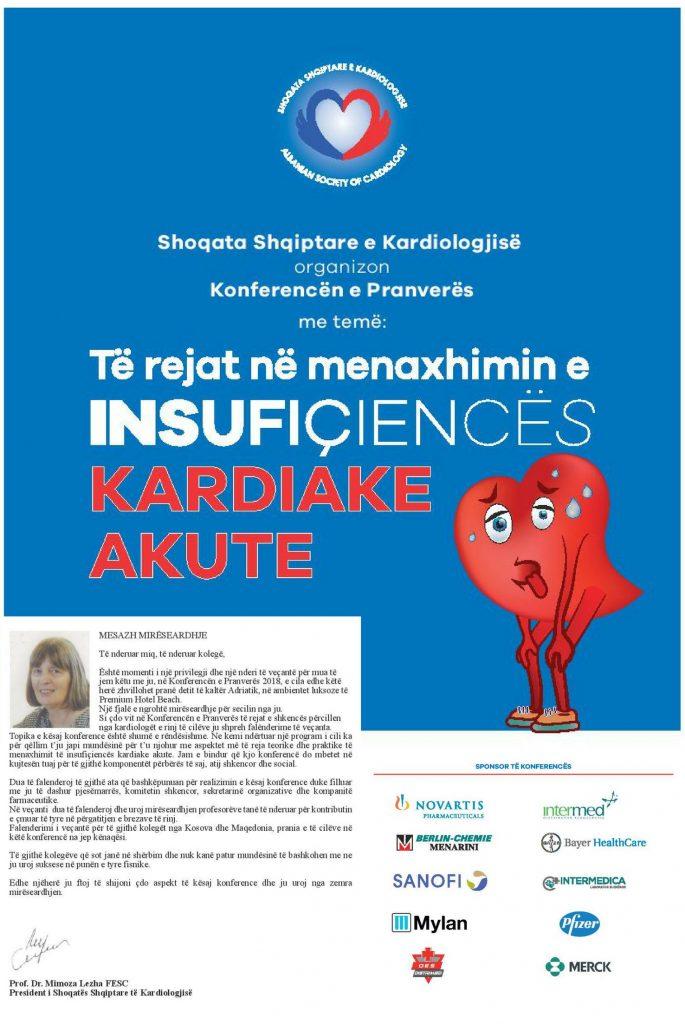 Të rejat në Menaxhimin e Insufiçiencës Kardiake Akute